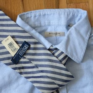 Burberry Shirts - Burberry Button Down Shirt + Gift